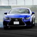LEXUS(レクサス)RC F 「Born on The Circuit」篇 TVCM