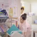 ダノンビオ「ビオレボリューション看護師」篇 × 稲本弥生 TVCM