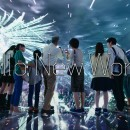 au「warp cube」篇 TVCM