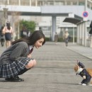 ヤフー Y!mobile「ふてニャン ネコのおまわりさん」篇 × 平祐奈 TVCM