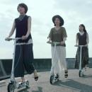 GU スカンツ&マキシスカート「キックボード」篇 × 香椎由宇・波瑠・山本美月・高良健吾 TVCM