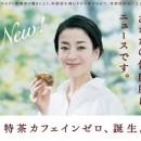 サントリー 特茶カフェインゼロ「薪割り」編 × 宮沢りえ TVCM